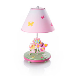 kids, lamps, boys, girls, nursery, bedroom, butterfly
