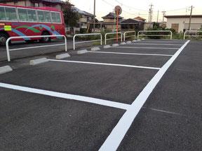 駐車場区画線設置工事