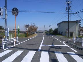 道路区画線設置工事