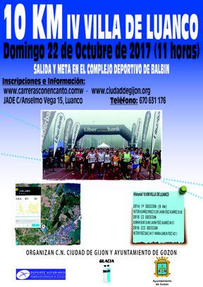 IV 10 KM. VILLA DE LUANCO - Luanco, 22-10-17