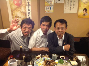 村西隆之社長に神田淡路町の居酒屋「たろう」で御馳走になる。