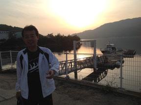 18時に「ベイリゾートホテル小豆島」へ到着