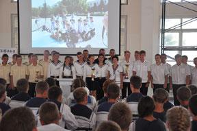 Открытый слет юных моряков 06.08.2016 г.