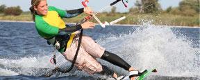 Kiten in Dranske auf Rügen