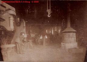 Innenfoto 3 der Landmaschinenfabrik von 1915