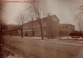 Außenfoto 1 der Landmaschinenfabrik von 1915