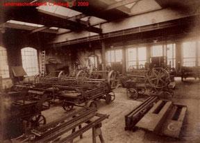 Innenfoto 1 der Landmaschinenfabrik von 1915