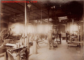 Innenfoto 2 der Landmaschinenfabrik von 1915