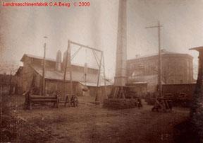 Außenfoto 2 der Landmaschinenfabrik von 1915