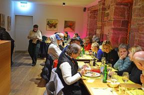 Comida para grupos en Basilea