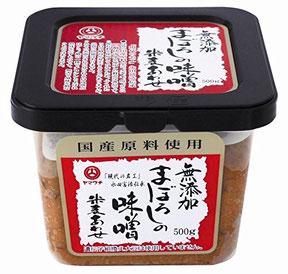 山内本店 無添加まぼろしの味噌 米麦合せ 500g 永田富浩が丹精込めて造り上げたこだわりの逸品です。原料には、厳選した国内産大豆・大麦・米・食塩を使用し、阿蘇の伏流水で仕込んだ、無添加・中甘口の米麦あわせ味噌です。米の甘みと麦の旨みがまろやかに調和した香り豊かなお味噌です。