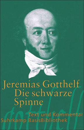 Jeremias Gotthelf, Die schwarze Spinne, Buchumschlag, Matura, Lektüre, Empfehlung