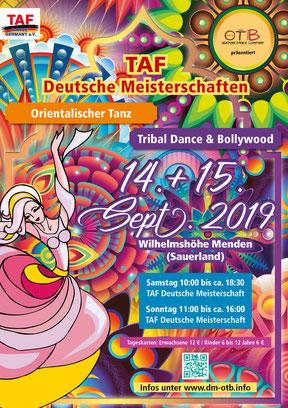 TAF Deutsche Meisterschaften OT + TD&B