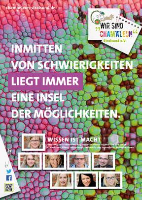 A2 Poster für den Stadtbereich und innerhalb der Einrichtungen