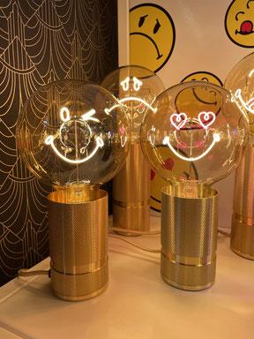 lampe message smiley reims eclat