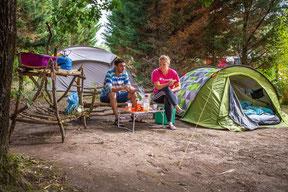 dordogne camping, emplacemens ombragés