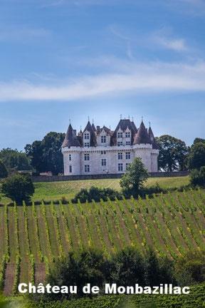 chateau de monbazillac proche du Perigord noir, Perigord vert et du Perigord blanc