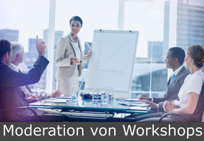 Moderation von Workshops