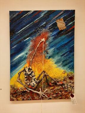 Ultime tableau (sans doute) réalisé par Jacques Braunstein