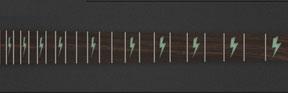 Lightning Bolt - Moon Glow - Lights on
