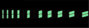 Split Block - Moon Glow - Lights off