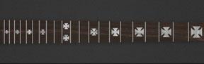 Iron Cross - White Pearloid
