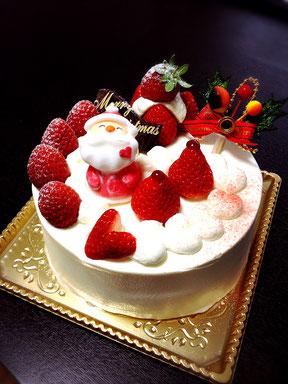 グルテンフリー米粉クリスマスケーキe