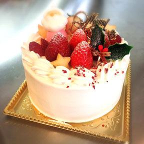 グルテンフリー米粉クリスマスケーキa