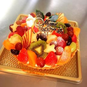 グルテンフリー米粉クリスマスケーキc