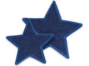 Stern Jeansflicken zum aufbügeln, Jeanspatches, Knieflicken zum aufbügeln