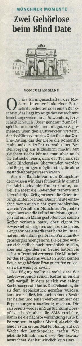 Quelle: Süddeutsche Zeitung 23.01.2019