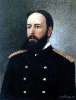 Губернатор Коленко. Картина И.В. Попова.