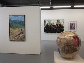 """Ausstellungsansicht """"Die Kunst ist weiblich"""""""