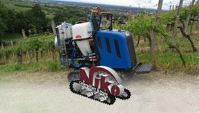 Niko Raupenfahrzeuge und Anbaugeräte bei Medl GmbH - Landtechnik Großhandel