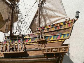 Schiffsmodell Golden Hinde