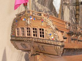 Schiffsmodell La Flore