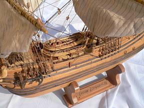 Schiffsmodell Zeehaen