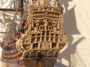 Schiffsmodell Prins Willem