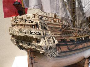 Schiffsmodell Le Fleuron