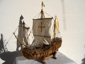 Schiffsmodell Nina 1:50