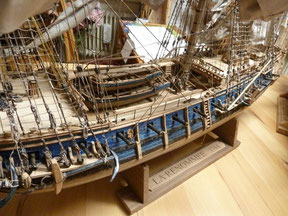 Schiffsmodell La Renommee