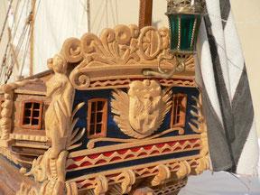 Schiffsmodell Große Jacht