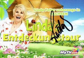 "Linda Feller - Sendung: ""Linda's Entdeckungstour"" bei MyTV plus"