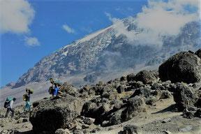 Besteigung der Machame Route auf den Kilimandscharo
