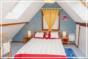 Chambre grand lit vercors