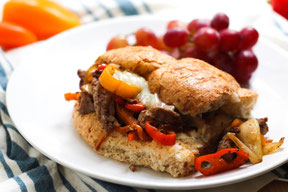 Easy 15-Minute Philly Cheesesteak Sandwiches Recipe