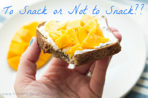 Tips for Better Snacking Habits