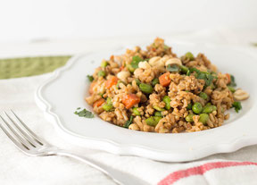 Whole Grain Veggie Fried (Brown) Rice