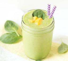 Green Mango-Kefir Smoothie Recipe