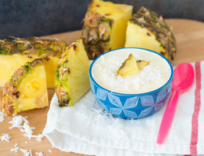 Pineapple-Coconut Smoothie Bowl Recipe